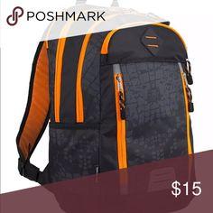 c9472725a63e I just added this listing on Poshmark  Eastsport Deluxe Sport Snake Pattern  Backpack.  . Orange BackpacksSnake ...