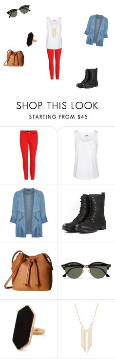 """""""casual"""" by ikatsamaki on Polyvore featuring J Brand, adidas, Evans, ECCO, Ray-Ban, Jaeger and Gemelli"""
