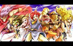 Chrono Trigger - Magus, Frog, Marle, Crono, Lucca, Robo, and Ayla