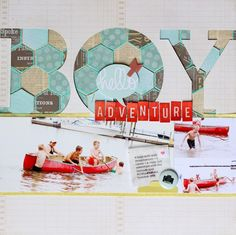 Boy Adventure *Studio Calico May kit*