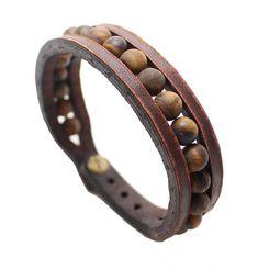 CARACTERÍSTICAS DE LA PULSERA DE CUERO PRODUCCIÓN; Se produce la pulsera de cuero de primera clase. Fabricarlos en mi propio taller. COMPONENTES DE METAL Los componentes de metal en la pulsera se hacen del material a prueba de herrumbre. COLOR Y EL ANCHO; Color de la pulsera se usa marrón. Ya que la pulsera es totalmente hecho a mano pueden producir algunas diferencias de menor color. Su ancho es de 0,7 pulgadas (1,7 cm). INFORMACIÓN DE TAMAÑO; Necesito la medida de tu muñeca. Recomie...