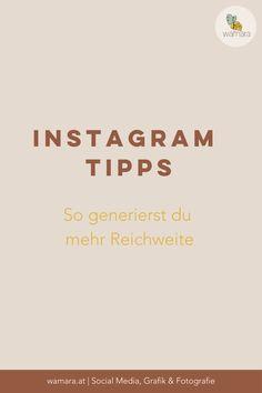 Mit unseren informativen Instagram Tipps generierst du mehr Reichweite und erzielst mehr Verkäufe. Zusätzlich bekommst du hier unseren kostenlosen Instagram Guide. Corporate Design, Instagram Feed, Grafik Design, Blog, Helpful Tips, Psychics, Tips And Tricks, Things To Do, Knowledge