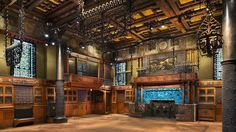 Room at the Park Avenue Armory, New York