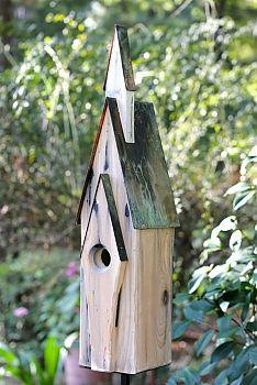 Heartwood Graceland Bird House   seattleluxe.com