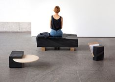 "Natalie Weinmann's slate furniture ""not designed to fit one purpose"""
