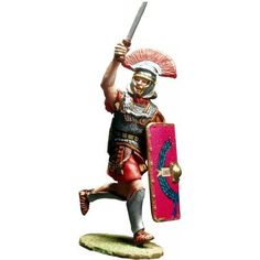PR 011 CHARGING ROMAN CENTURION