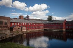 The Collins Axe Factory in Collinsville CT,  ... reminds me of a John Constable painting