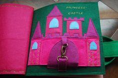 Princess Quiet Book - castle page