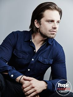 Tom! Soarsie! Jessica! See the Stars Have a Blast at the TIFF Photo Booth | SEBASTIAN STAN | With a list of hit movies under his belt (including the Captain America franchise), The Martian star looks like a natural in the Getty booth.