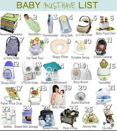 to Mama: A List of Baby Must Haves… perf for my lil G! to Mama: A List of Baby Must Haves… perf for my lil G! The Babys, Baby Must Haves, Baby Registry Must Haves, Baby Registry Checklist, New Born Must Haves, Baby Registry Items, Hospital Bag Checklist, Baby Necessities, Baby Essentials