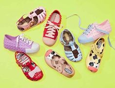One of the best things about summertime is dressing your little girl for fun in the sun, and this collection of sandals from Brazilian label Mini Melissa takes that to the next level. The jelly sandals here are sweet, durable and comfortable—the trifecta of all things good in a kid's shoe. See more at #MyHabit : http://www.myhabit.com/?tag=kids_deals-20