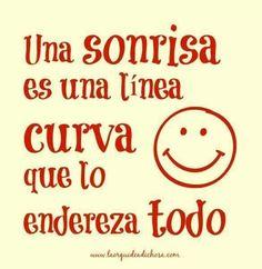 Sonreír  =)