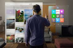 """O vídeo da Microsoftque anuncia o HoloLens diz : """"Como seria se pudéssemos ir além da tela de um computador? Agora nós podemos. Este é o mundo com hologramas"""". OHoloLens, um computador holográfico em formato de óculos,foi uma das maiores novidades do evento daMicrosoft. A tecnologia conecta o mundo digital com o real, através de hologramas: uma técnica de registro de padrões de interferência de luz, que gera imagens em três dimensões. O HoloLens é controlado por gestos e botões na…"""