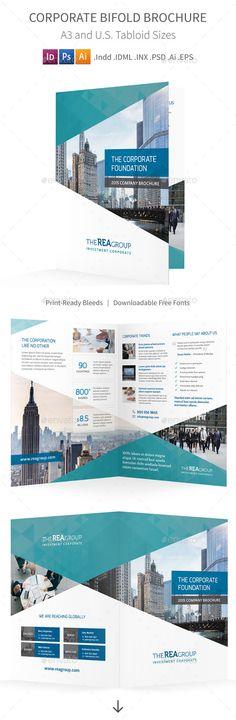 Real Estate Brochure Template アトレンテ_パンフレット Pinterest - half fold brochure template