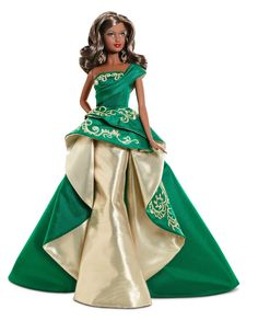 AmazonSmile: Barbie Collector 2011 Holiday African-American Doll: Toys & Games