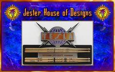 Tesla Custom Drumstick wall Display