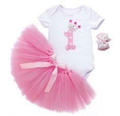 Un increíble Outfit de princesa para celebrar su primer año o su primer mes! Encuéntralo en Gorigori Royal Kidswear!! FB: GorigoriRoyalK