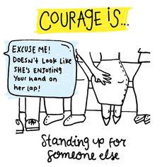 Courage Is — MICHELLE POLER Confort Zone
