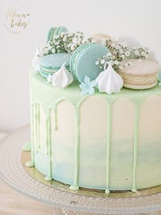10 Dreamy Drip Cakes ideas 10 Dreamy Drip Cakes cake for you . - 10 Dreamy Drip Cakes ideas 10 dreamy drip cakes cakes for you - Funny Birthday Cakes, Unique Birthday Cakes, Homemade Birthday Cakes, Birthday Cakes For Women, Birthday Ideas, Happy Birthday, Birthday Drip Cake, 15th Birthday Cakes, Green Birthday Cakes