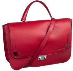 Cartera en bandolera Marcello de Cartier en rojo