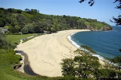 Beautiful Blackpool Sands in South Devon