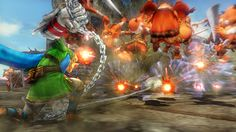 Hyrule Warriors: Skyward Sword update (July 2014) - Link gets a new ball and chain weapon