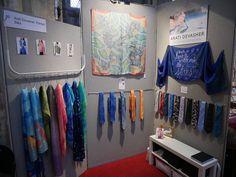 Stand 50 - 2018 - Arati Devasher Silk Painting, 50th, Centre, Textiles, Contemporary, Home Decor, Accessories, Homemade Home Decor, Decoration Home