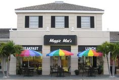 Breakfast and Lunch 7AM to 2:30PM Maggie Mae's on Sand Key 1261 Gulf Blvd Clearwater, FL 33767 Maggie Mae's on the Bluffs   2961 West Bay Drive Belleair Bluffs, Florida 33770