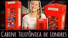 Cabine Telefônica de Londres =DiY