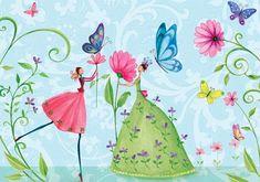 Mila Marquis fairies and butterflies Más Art Fantaisiste, Photo Deco, Girl Artist, Jolie Photo, Whimsical Art, Cute Illustration, Beautiful Artwork, Illustrations Posters, Art For Kids