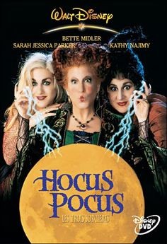 Hocus Pocus DVD Cover - da: Incantesimi cinemusicali / 3)