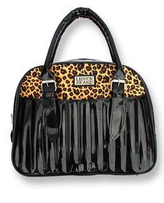 Liquor Brand Laquer Leo Handbag Black $34.99