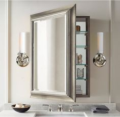 Beau Image Result For Traditional Mirrored Bathroom Cabinet
