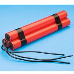 Secret Agent/Detective Party Supplies Canada: Fake Dynamite includes three long cylinders with wires coming from them. 12 inches in size. Caddyshack Gopher, Goonies Party, Army Party, Police Party, Clowning Around, Practical Jokes, 6th Birthday Parties, Birthday Cakes, Costume Shop
