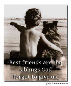 Geburtstagskarte: Gott hat uns zu Freundinnen gemacht, Weil keine Mutter der Welt uns als Schwestern ertragen würde.