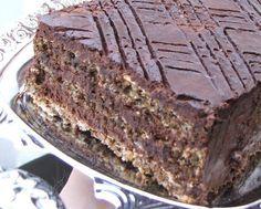 Toportorta (liszt nélküli diós csokitorta) | Lifehack