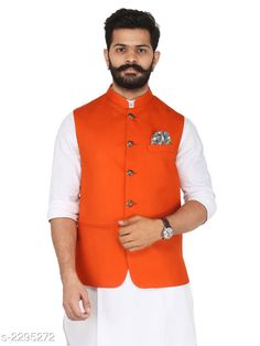 Ethnic Jackets Stylish Cotton Viscous Blend Printed Ethnic Jacket Fabric: Cotton Viscous Blend Sleeves: Sleeves Are Not Included Size: 36 in ,38 in ,40 in ,42 in ,44 in (Refer Size Chart) Length: (Refer Size Chart) Type: Stitched Description: It Has 1 Piece of Men's Ethnic Jacket Pattern:Solid  Sizes Available: 36, 38, 40, 42, 44, 46 *Proof of Safe Delivery! Click to know on Safety Standards of Delivery Partners- https://ltl.sh/y_nZrAV3  Catalog Rating: ★4.2 (349)  Catalog Name: Men's Stylish Cotton Viscous Blend Printed Ethnic Jackets Vol 1 CatalogID_306072 C66-SC1202 Code: 118-2295272-