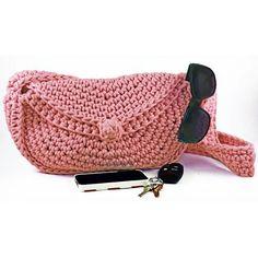 Round About Purse - crochet bag - Premier Yarns Design Team - free pdf pattern ༺✿ƬⱤღ https://www.pinterest.com/teretegui/✿༻