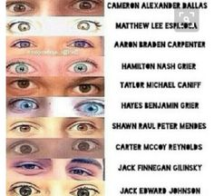 Uh, SHAWN PETER RAUL MENDES. and, BENJAMIN HAYES GRIER!! Gosh everyone should know that.