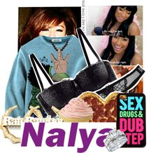 """{ I say Lame Nigga Be Quiet , You in a real nigga presence , I eat ya girl fa breakfast ! } - Nalya"" by lovenalya ❤ liked on Polyvore"