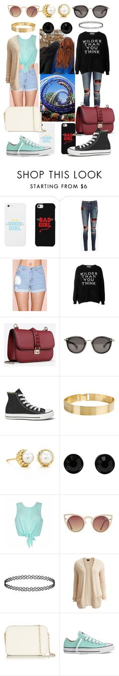"""""""Untitled #117"""" by ladyfleurfashion ❤ liked on Polyvore featuring LG, rag & bone/JEAN, Signature 8, Each X Other, Valentino, Moncler, Converse, Lele Sadoughi, Tiffany & Co. and Givenchy"""