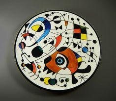 Joan-Miró-handpainted-plate