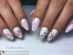 @Regrann from @gorshkova_elena_nails -  #ногти #ногти43 #ногтикиров #маникюр43 #маникюркиров #гельлак #ногти2017 - #regrann