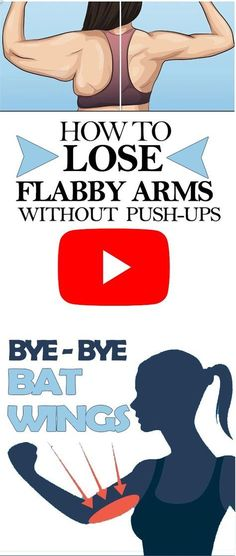 How to Lose Flabby Arms Without Push-Ups QUICK RESULTS (VIDEO)