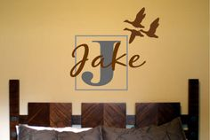 Flying Ducks with Personalized Name and by designstudiosigns, $42.00