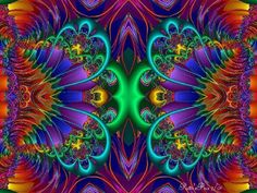 Fractal Gallery Psychedelic Art | Re-Vision Radio's