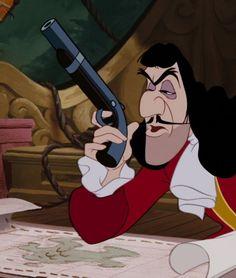 Disney Magic, Disney Art, Disney Movies, Evil Villains, Disney Villains, Pixar, Captain Hook Peter Pan, Peter Pan 1953, Disney Frames