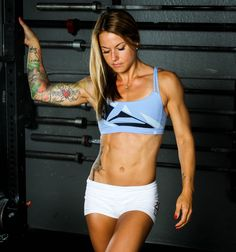 Christmas Abbott is an American CrossFit athlete, fitness model, and an author. She has an amazing transformation story. Read more on GreatestPhysiques. Weight Loss Tips, Lose Weight, Fitness Models, Female Fitness, Female Muscle, Fitness Women, Christmas Abbott, Bodybuilding, Muscle Girls