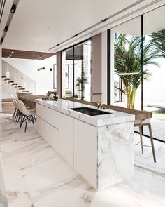 The 21 best ideas for modern kitchen design - best living ideas and inspirationModern kitchen cabinets Ideas to get more inspiration dish modernkitchencabinet modernkitchen kitchencabinet kitchencabinets most beautiful ideas for modern kitchen cabinets Modern Kitchen Cabinets, Modern Farmhouse Kitchens, Farmhouse Kitchen Decor, Modern Kitchen Design, Home Decor Kitchen, Interior Design Kitchen, Modern Interior Design, Cool Kitchens, Interior Architecture