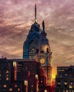 City Hall Station, Philadelphia Skyline, William Penn, City Scapes, City Girl, Sky High, Empire State Building, Pennsylvania, North America
